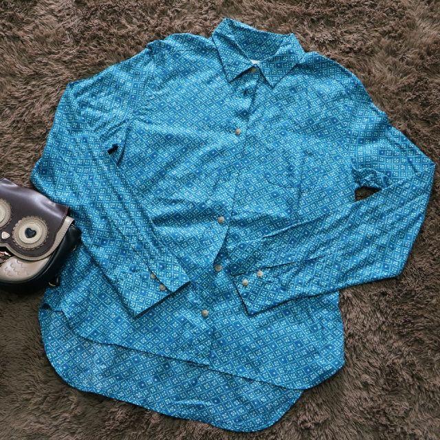 Blue Batik [Preloved Atasan/Batik]