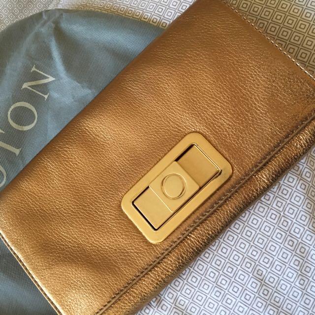 Brand new Oroton clutch