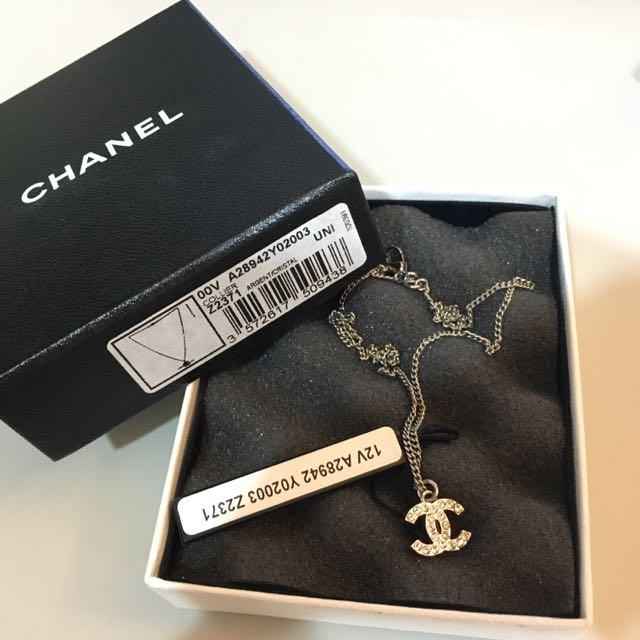 待匯)正品)Chanel經典款項鍊
