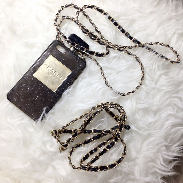 Chanel perfume case for iphone 5/5s