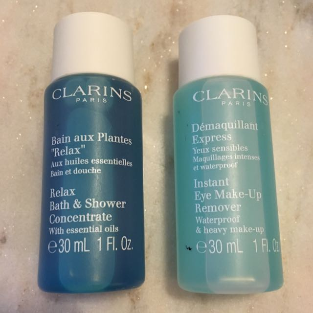 Clarins Eye Makeup Remover & Bath
