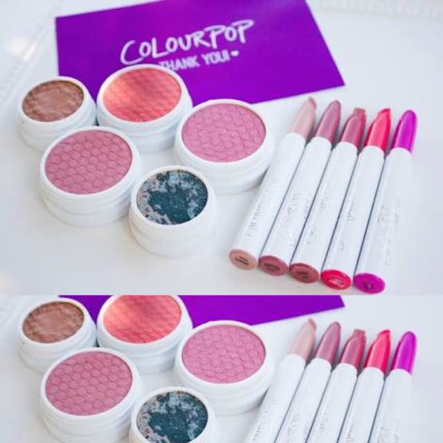 COLOUR POP PRE ORDER