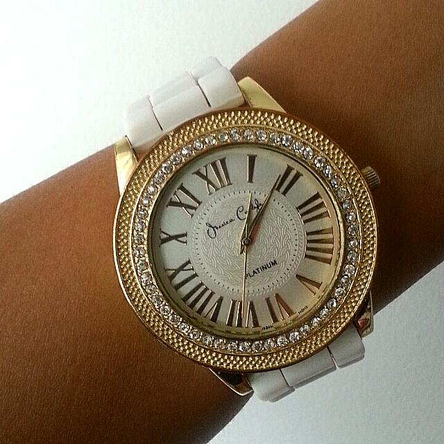 Crystal Encrusted Jessica Carlyle Watch