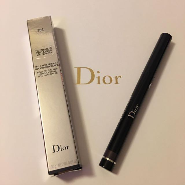Dior 搶眼造型眼線膠筆#882 全新品
