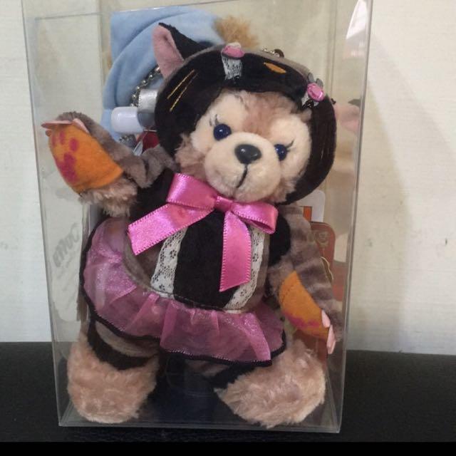 (絕版)Duffy Shelliemay 日本迪士尼 玫雪莉 萬聖節 站姿吊飾