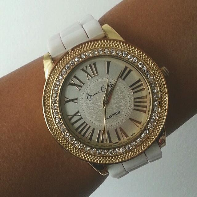 Encrusted Jessica Carlyle Watch