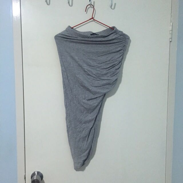 Glamazon Label - Asymmetric Grey Skirt