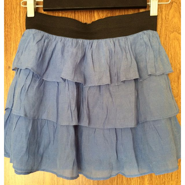 REDUCED - WAS $15, NOW $1 - GUESS BLUE SKIRT - SIZE SMALL - ALMOST NEW!