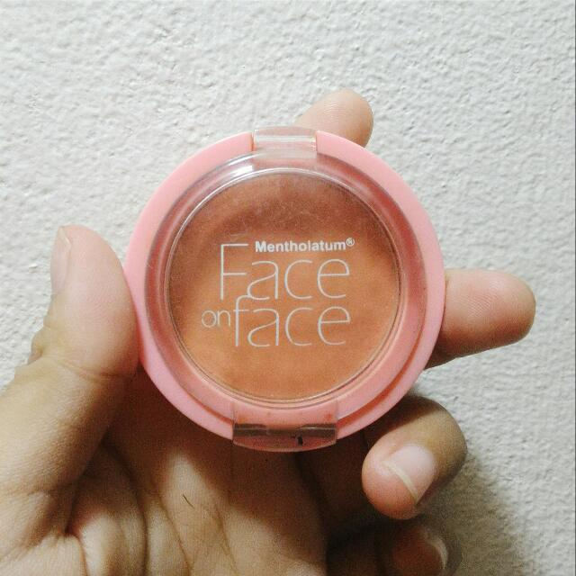 Mentholatum Face On Face Blush On #Natural