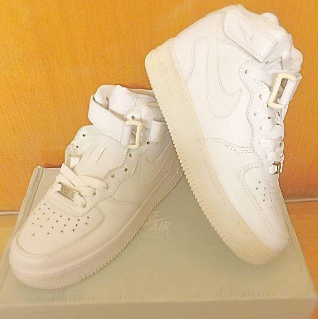 Nike Af1中筒 白
