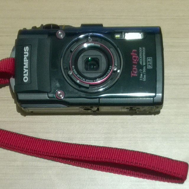 OLYMPUS TOUGH STYLUS TG-3 TG3 Waterproof Camera Black