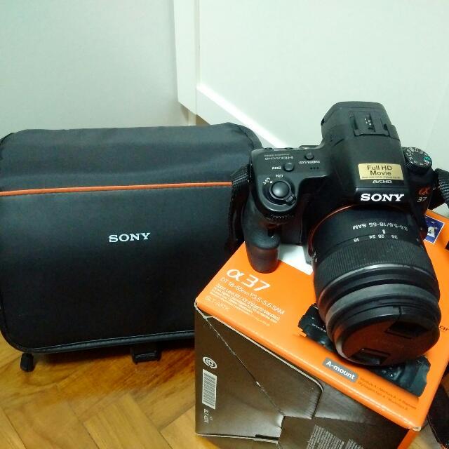 Pre Loved Sony Alpha 37 Camera