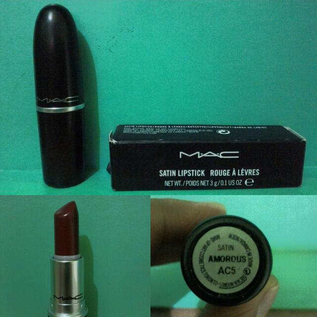 Preloved MAC lippies in Amorous