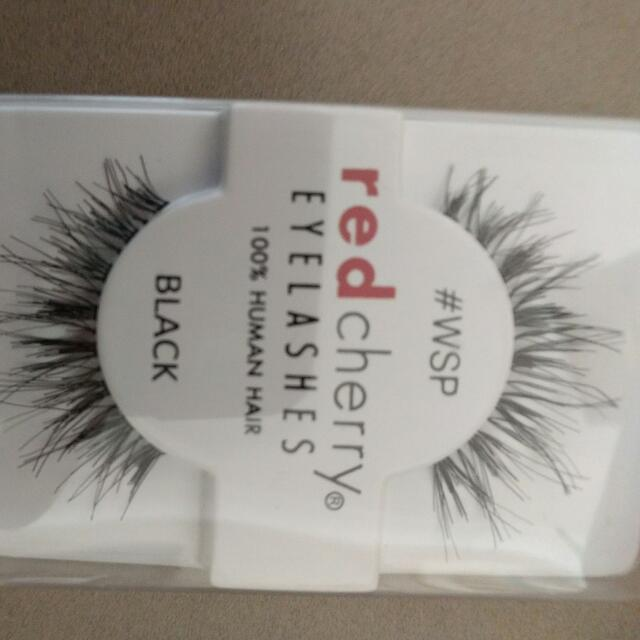 Red Cherry Human Hair Eyelash