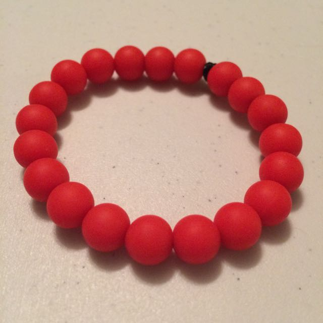 Red Teething Bracelet