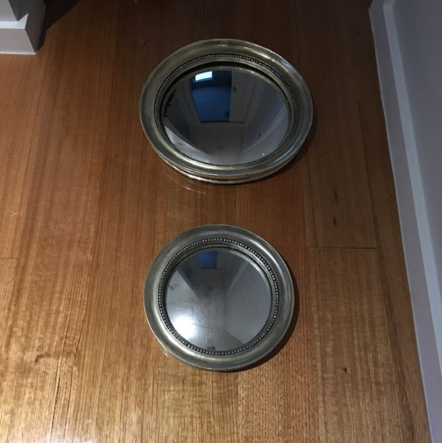 Set Of Two Bollo Mirrors