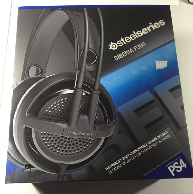 Steel Series Headphones Siberia P300