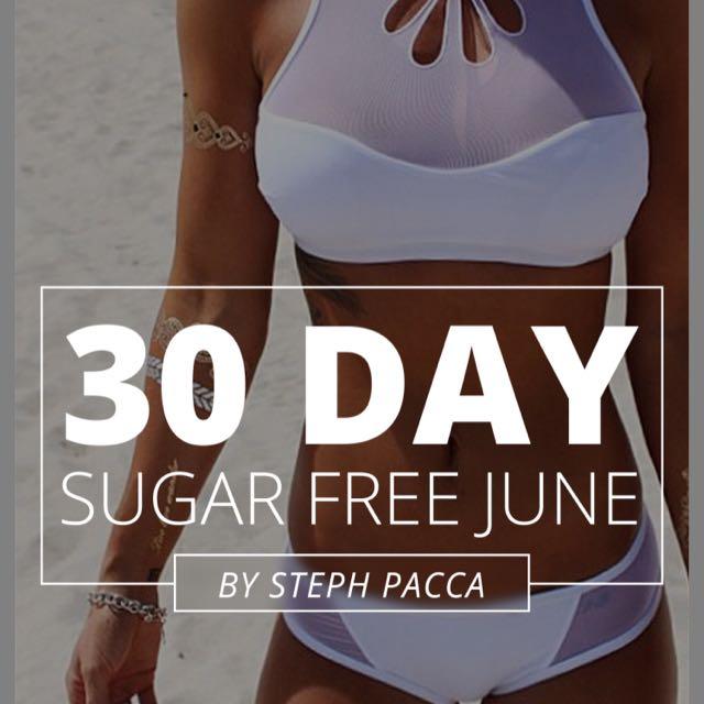 Sugar Free Month