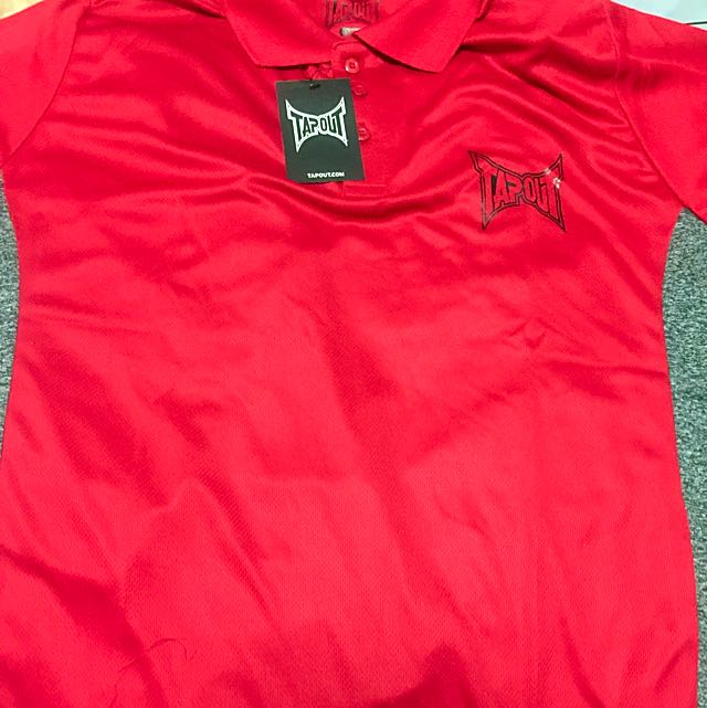 fd52ffdb Tapout Poly Polo Shirt Mens, Sports on Carousell