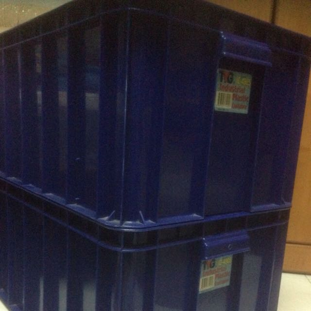 Toyogo Industrial Containers - Plastic X 3