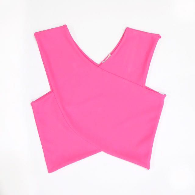 Unimanu - Pink Cropped Top