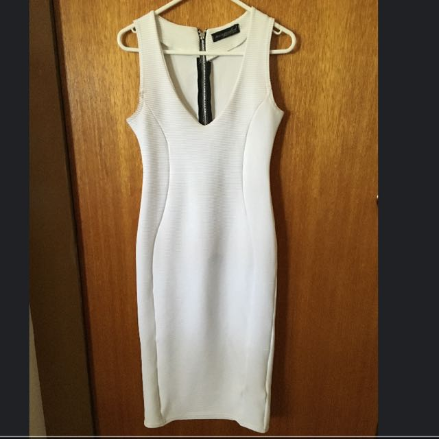 White Misguided Dress