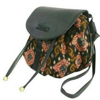 Tribal Ethnic Mini Drawstring Bag