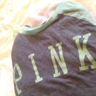 PINK by Victoria's Secret 3/4 Sleeve Shirt