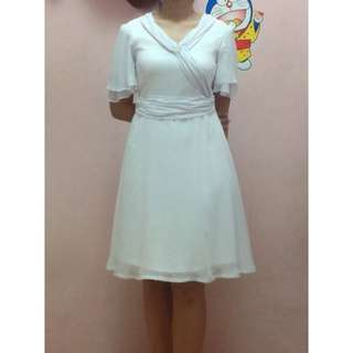 Medium White Dress