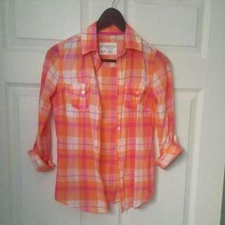 Summer Button Up Shirt
