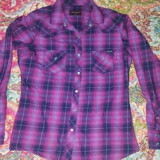 Wrangler Shirt Ladies 10
