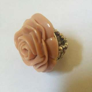 Dusty Rose And Gold Ring