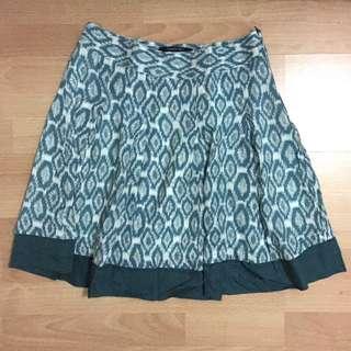 Turquoise Tribal Skirt