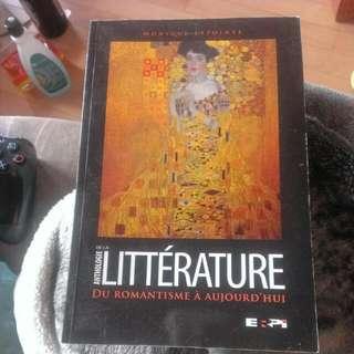 Anthologie de la littérature