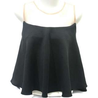 SALE! Sabrina Black Blouse