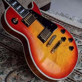 Japanese Burny Custom Gibson Pickups Fret edge binding