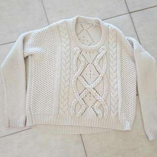 Country Road Cable Knit M (10-12)