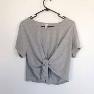 Grey Cotton On Crop Top