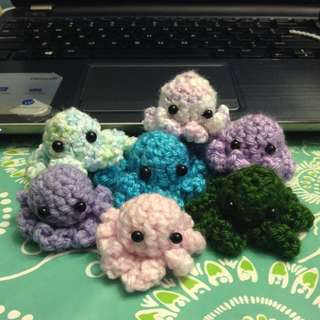 Crocheted Octopuses!