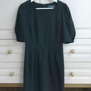 Marcs Black Short Sleeved Dress