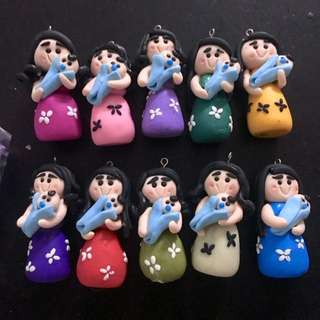 personalize souvenirs & giveaways made from polymer clay for special events like birthdays, weddings, baptismals, Etc