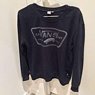 Vans Charcoal Pullover Sweatshirt