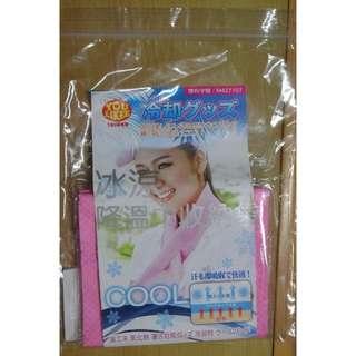 [ 全新 ] 冰涼降溫巾 涼感巾 粉紅色