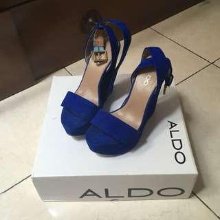 Aldo Wedges In Electric Blue Sz37