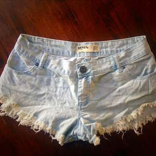 Denim Cotton On Shorts