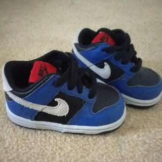 Nike Infant Leather Shoes (Limited Edition Cracked Pattern)