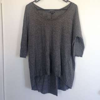 River Island Grey Top Size 12