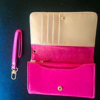 Pink Wallet iPhone 5 Holder