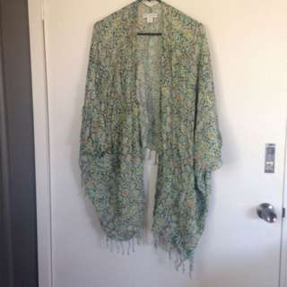 Green Kimono By Cotton On