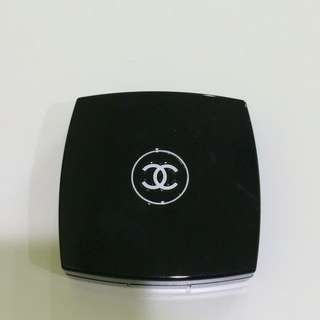 Chanel Blush Duo Tweed Effect